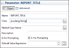 Using Parameters in Queries | Jaspersoft Community