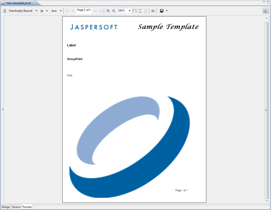 creating and customizing templates jaspersoft community