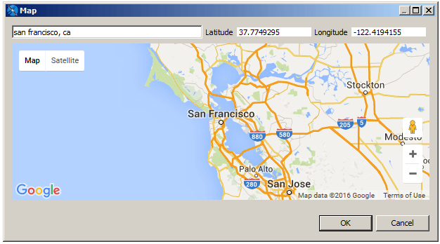 Working With the Map Component | Jaspersoft Community