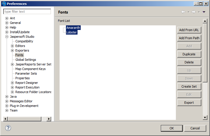 Working with Font Extensions   Jaspersoft Community