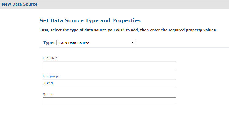 File Data Sources | Jaspersoft Community