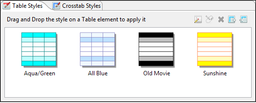 Editing a Table | Jaspersoft Community