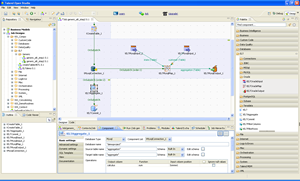 Jaspersoft ETL Screenshot